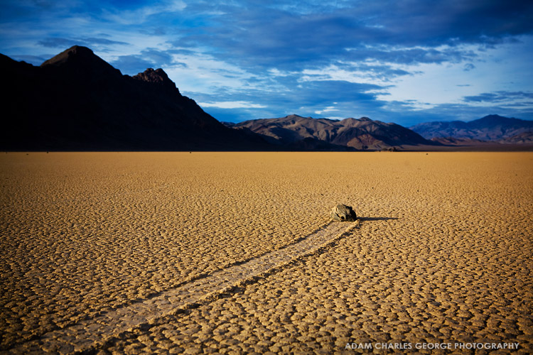 Racetrack Playa, Death Valley, by Adam Charles George Photography